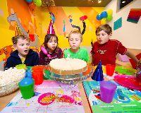 Oslava narozenin pro d�ti v z�bavn�m parku BRuNO