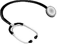 Stetoskop, zdroj: www.clipart.com